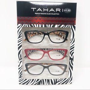 NWT Tahari +1.50 Premium Reading Glass Collection